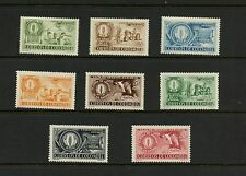 Colombia 1957 #670-2, C292-6 agriculture coffee cattle  8v. MNH  J316