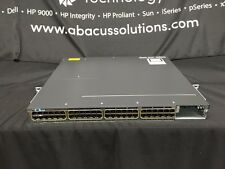 Cisco Catalyst WS-C3750X-48P-S Fully Tested 1YR Warranty *Slight Faceplate Ding*