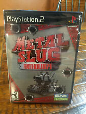FACTORY SEALED FREESHIP Y-Fold METAL SLUG ANTHOLOGY PS2 -NOW RARE-