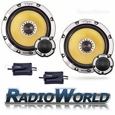 "Vibe Blackair 6 17cm 6.5""  Car Component Speaker Set 345W Speakers Audio BA6"