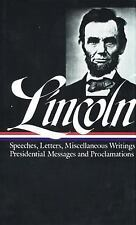 Lincoln No. 46 : Speeches and Writings, 1859-1865 Vol. II by Abraham Lincoln...
