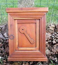 Vintage Small Wooden Hallway Key Cabinet wall cabinet Lovely Authentic