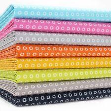 FQ Bundle - Mono Marguerite - All Colours x 8 - Cotton Fabric Patchwork Quilting