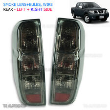 Fit D40 Nissan Navara Frontier 2006-2013 Rear Back Outlaw Tail Light Lamp Smoke