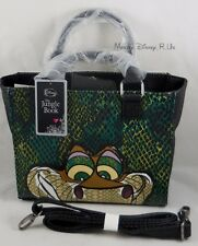 New Loungefly Disney The Jungle Book KAA Snake Hand Bag Purse W/ Shoulder Strap