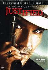 Justified:Complete 2nd Season, BRAND NEW FACTORY SEALED 3-DVD SET (2012, Sony)