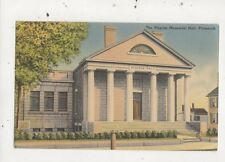 The Pilgrim Memorial Hall Plymouth USA 1951 Postcard 936a