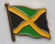 Jamaica Country Flag Enamel Pin Badge