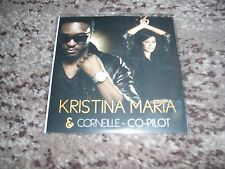 "Kristina maria & Corneille rare cd single promo remixes ""co- pilot"""