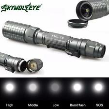 Con zoom 4000LM 5Modes Linternas eléctricas CREE XML T6 LED Torch Lamp