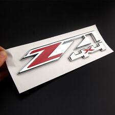 Z71 4x4 Emblem Badge Decal Sticker For GMC Chevy Silverado Sierra Tahoe Suburban