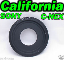 C Mount Lens to Sony Camera NEX E NEXE Adapter Ring NEX-3 NEX-5 VG20 C3 5C 5N 5R