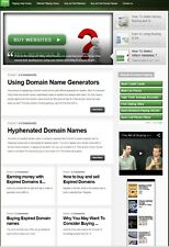 WEBSITE & DOMAINS FLIPPING WEBSITE FOR SALE! WITH SEARCH ENGINE FRIENDLY CONTENT