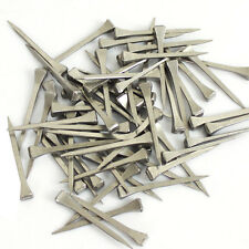 """100 Pcs 2"""" Stainless Steel Horseshoe Nails For Stained Glass Equestrian Sports"""
