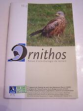 revue ORNITHOS revue  D ' ORNITHOLOGIE DE TERRAIN  N°19.2 DE 2012 .