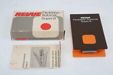 Revue Film adesivo sportello automatico super 8 in scatola originale con istruzioni #8127