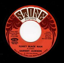 FUNK CLASSIC-EARNEST JACKSON-STONE 203-FUNKY BLACK MAN/WHY CAN'T I LOVE SOMEBODY