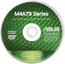 ASUS M4A79 Deluxe AND M4A79-T Deluxe Motherboard Drivers Install Disk M1473