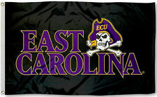 East Carolina Pirates 3' x 5' Flag (Wordmark Logo) ECU NCAA Licensed