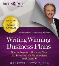 6 CD Rich Dad Writing Winning Business Plans