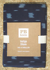 POTTERY BARN ~ INDIGO STANDARD SHAM ~ I ALSO HAVE THE QUILT FOR SALE