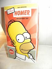 MIB!  2002 ROCKET USA THE SIMPSONS HOMER TIN WIND UP TOY