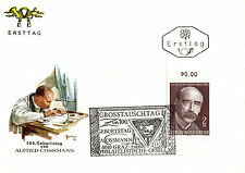 AUSTRIA 2 OCTOBER 1970 ALFRED COSSMANN FIRST DAY COVER SHS