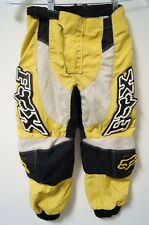 FOX Racing 180 Youth Boys Motocross Pants Yellow/Black/White Size 8/24