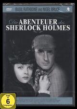 DVD DIE ABENTEUER DES SHERLOCK HOLMES - BASIL RATHBONE *** NEU ***