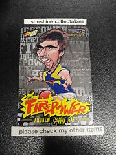2015 AFL CHAMPIONS FIREPOWER CARICATURE FC52 ANDREW GAFF WEST COST EAGLES