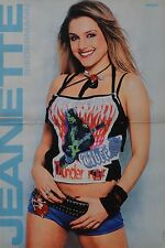 JEANETTE BIEDERMANN - A3 Poster (ca. 42 x 28 cm) - Clippings Fan Sammlung NEU