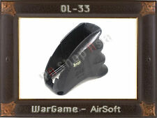 OL33  Airsoft AA M4 M16 Magazine well grip (BK) Softair