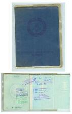 DDR GDR Ausweis Personalausweis mit Stempeln 1981 Kamenz ungültig
