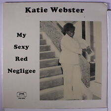 KATIE WEBSTER: My Sexy Red Negligee LP Sealed rare Blues & R&B