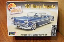 REVELL '58 CHEVY IMPALA MODEL KIT 1/25 SCALE