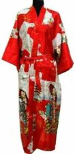 Chinese Women's silk long style Kimono Robe Gown sleepwear