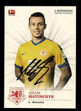 Adam Matuschyk Autogrammkarte Eintracht Braunschweig 2016-17 Original+A 138343