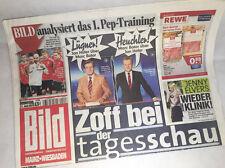 Bildzeitung vom 27.06.2013 * Geschenk zur Geburt * Marc Bator und Jan Hofer
