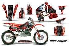 AMR Racing Honda CR500 Graphic Kit # Plates Decal Sticker Part CR 500 89-01 MHR