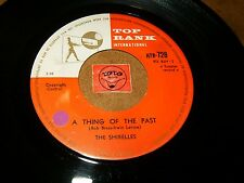 THE SHIRELLES - A THING OF THE PAST - WHAT A SWEET THING / LISTEN -  POPCORN