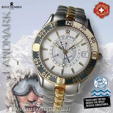 REVUE THOMMEN LANDMARK MANASLU EXPEDITION SUN COMPASS SWISS WATCH 5817001