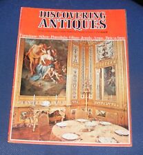 DISCOVERING ANTIQUES ISSUE NO.10 - FAIENCE/GOBELINS TAPESTRIES/BOULLE