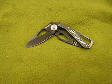 New Snap On Folding Lock Back Knife with Belt Clip