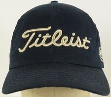 Titleist Embroidered Blue Baseball Hat Cap with Adjustable Cloth Strap