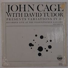 JOHN CAGE w/ DAVID TUDOR: Variations IV Everest 6132 NM lp ELECTRONIC