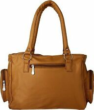 Deal Especial Brown Big Fancy Shopping Women's Handbags Shoulder Leather Bag 096
