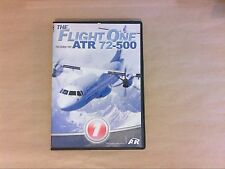 JEU PC / FLIGHT SIMULATOR / THE FLIGHT ONE ATR 72-500 / TRES BON ETAT