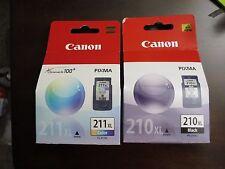 "NIB Canon PG-210XL Black XL, CL-211XL Multicolor ink cartridges ""New Retail"""