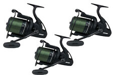Fox 3 x FX11 Big Pit Carp Reels with Spare Spool *Brand New* CRL057