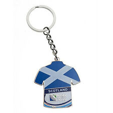 Rugby World Cup 2015 Scotland Jersey Flag Key Ring